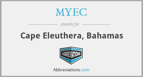 MYEC - Cape Eleuthera, Bahamas