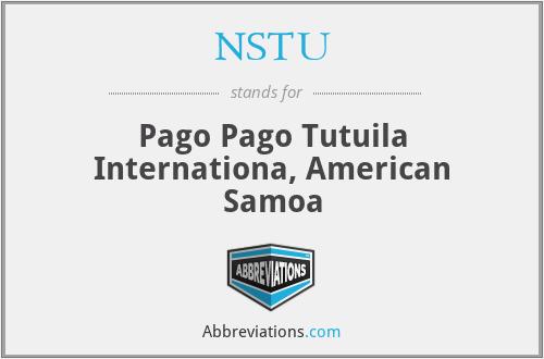 NSTU - Pago Pago Tutuila Internationa, American Samoa