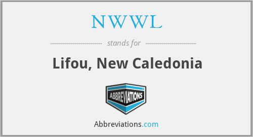 NWWL - Lifou, New Caledonia