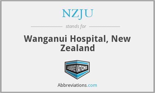 NZJU - Wanganui Hospital, New Zealand