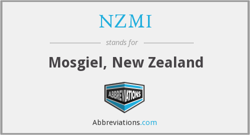 What does NZMI stand for?