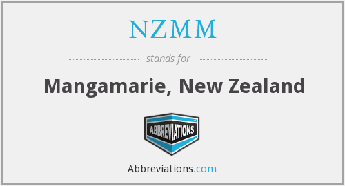 What does NZMM stand for?