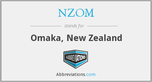 What does NZOM stand for?