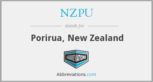 NZPU - Porirua, New Zealand