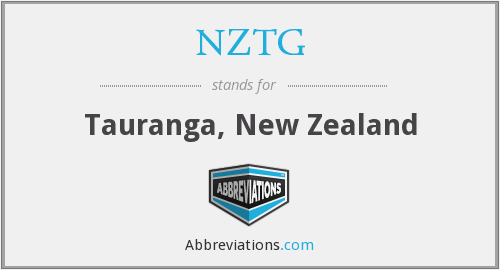 What does NZTG stand for?