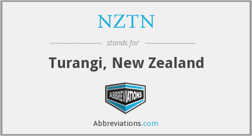 NZTN - Turangi, New Zealand