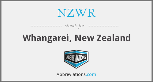 What does NZWR stand for?