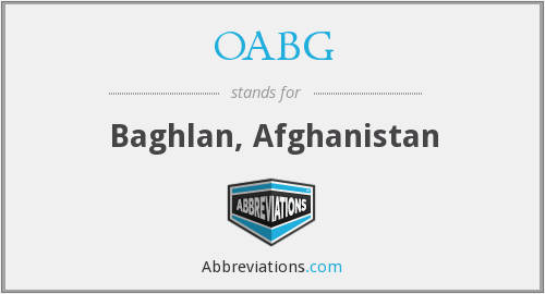 What does OABG stand for?