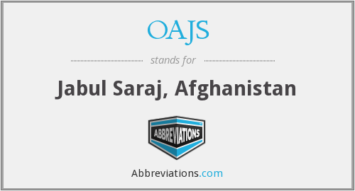 What does OAJS stand for?
