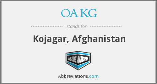What does OAKG stand for?