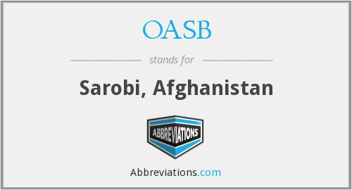 What does OASB stand for?