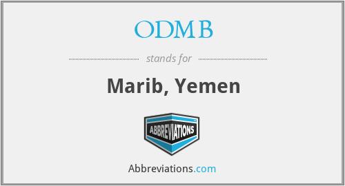 ODMB - Marib, Yemen