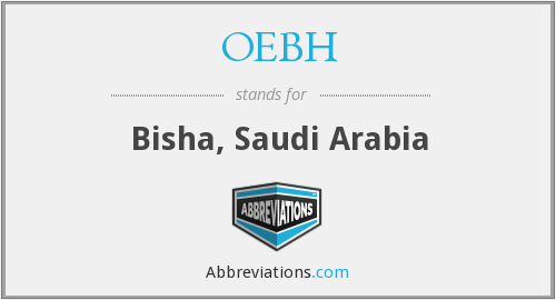 What does OEBH stand for?