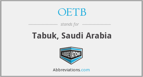 What does OETB stand for?