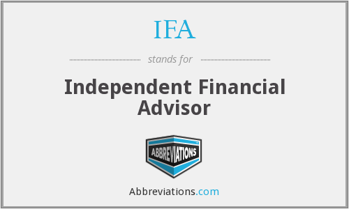 IFA - Independent Financial Advisor