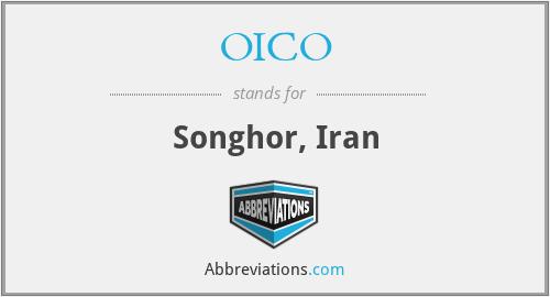 OICO - Songhor, Iran