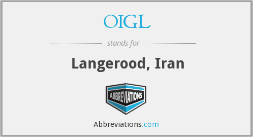 What does OIGL stand for?