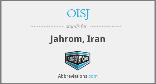 OISJ - Jahrom, Iran