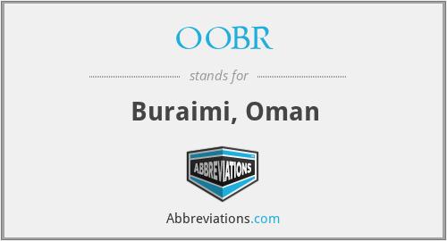 OOBR - Buraimi, Oman