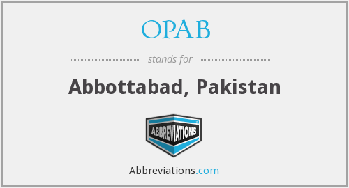 What does OPAB stand for?