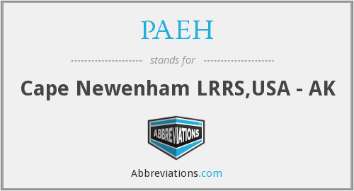 What does PAEH stand for?