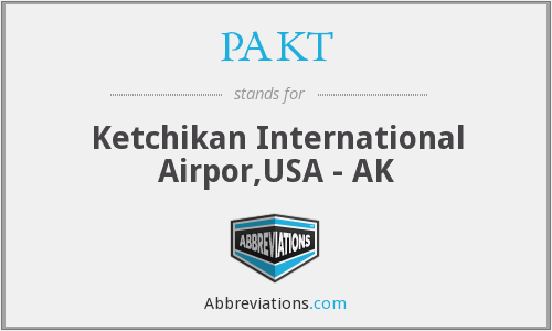 PAKT - Ketchikan International Airpor,USA - AK