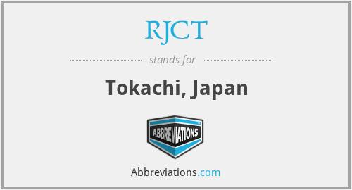 RJCT - Tokachi, Japan