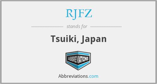 RJFZ - Tsuiki, Japan