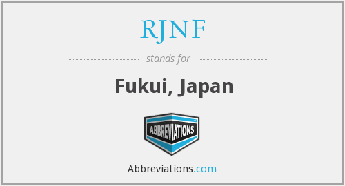 What does RJNF stand for?