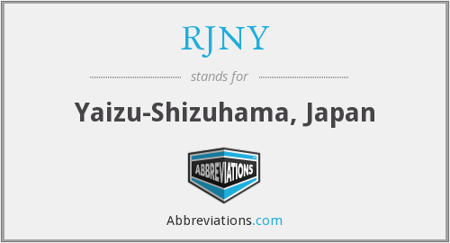 What does RJNY stand for?