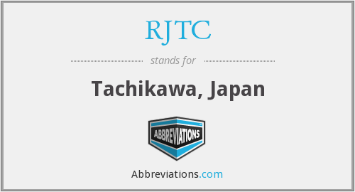 What does RJTC stand for?