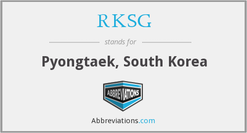 What does RKSG stand for?