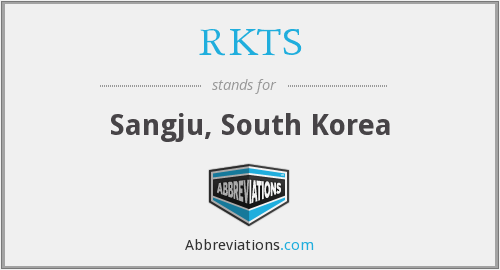 What does RKTS stand for?