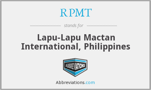 What does RPMT stand for?
