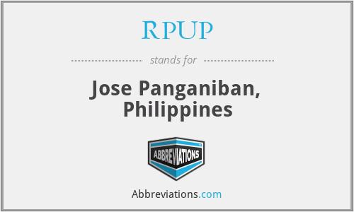 RPUP - Jose Panganiban, Philippines