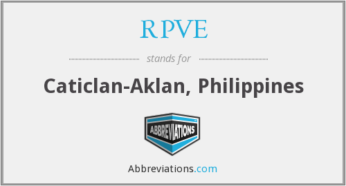 What does RPVE stand for?