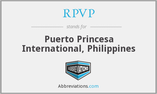 RPVP - Puerto Princesa International, Philippines