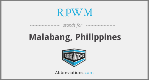What does RPWM stand for?