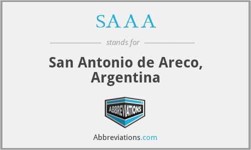 SAAA - San Antonio de Areco, Argentina