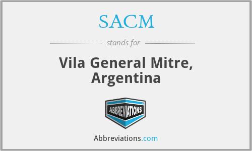 SACM - Vila General Mitre, Argentina