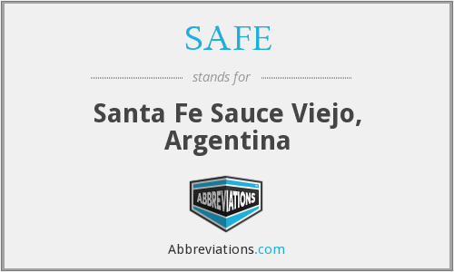 SAFE - Santa Fe Sauce Viejo, Argentina