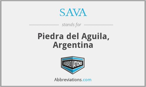 SAVA - Piedra del Aguila, Argentina