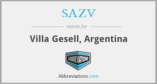 SAZV - Villa Gesell, Argentina