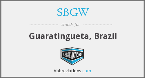 What does SBGW stand for?