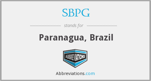 SBPG - Paranagua, Brazil