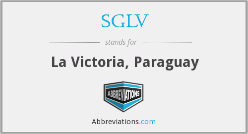 What does SGLV stand for?