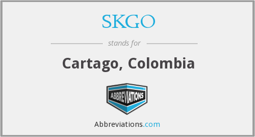 SKGO - Cartago, Colombia