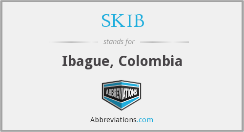 SKIB - Ibague, Colombia