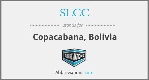 SLCC - Copacabana, Bolivia