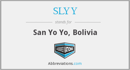 What does SLYY stand for?